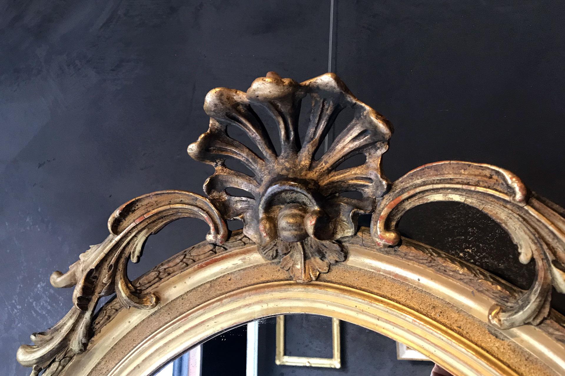 Restauro specchiera antica